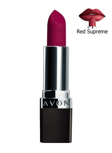Avon Perfectly Mat Ruj Red Supreme Renkli